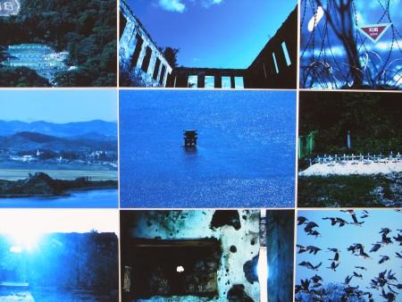 展示会のタイトルとなった韓国人アーティストの作品