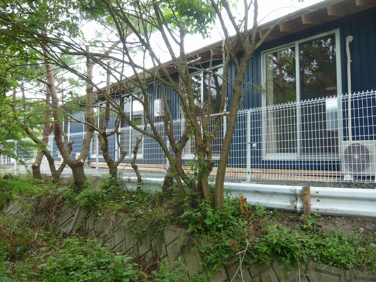 側溝から外観(山田町)