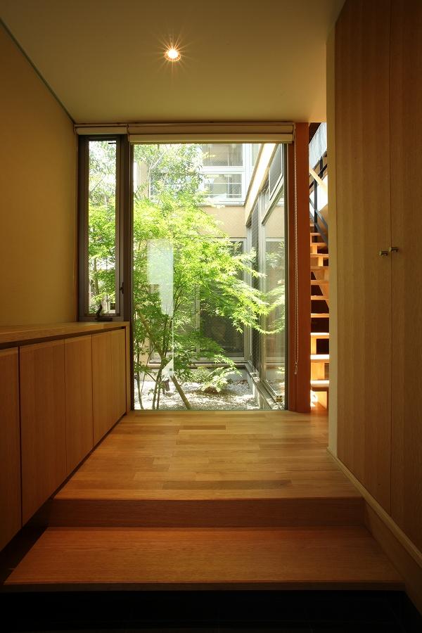 三鷹の家03玄関