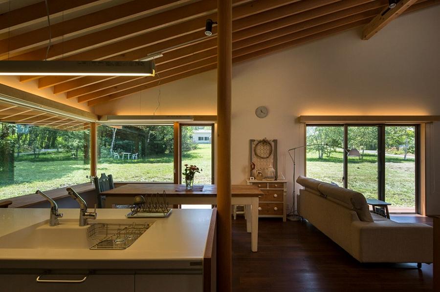 茅野の家-キッチン