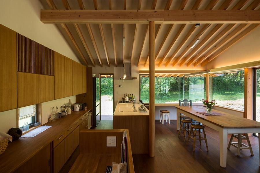 茅野の家-食堂、キッチン