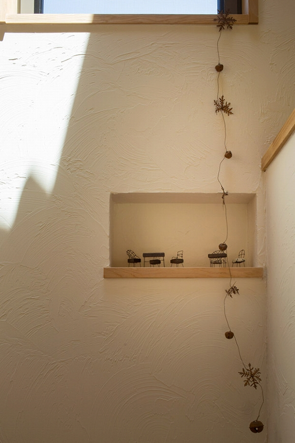 茅野の家-階段